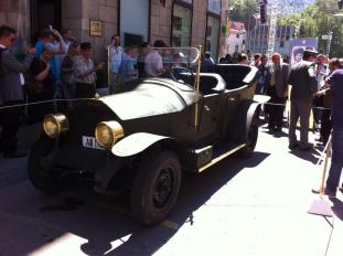 Replica of Ferdinand's Car in Sarajevo June 2014
